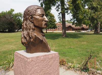 Bust of Wild Bill Hickok