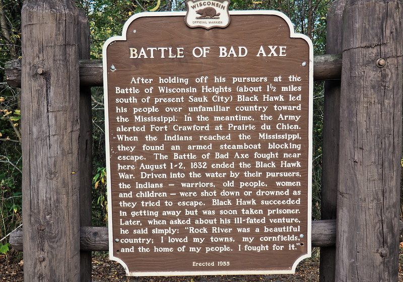 Historical Marker: Battle of Bad Axe