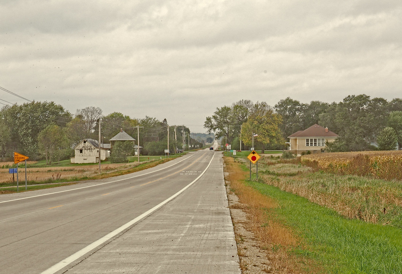 Approaching Salem Corners
