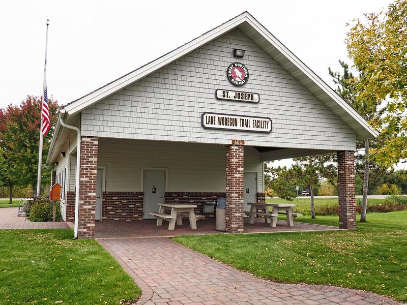 Lake Wobegon Trail shelter