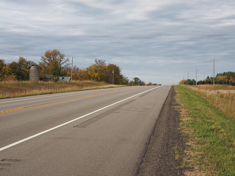 North of Hewitt on US-71