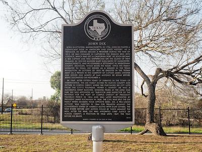John Dix historic marker