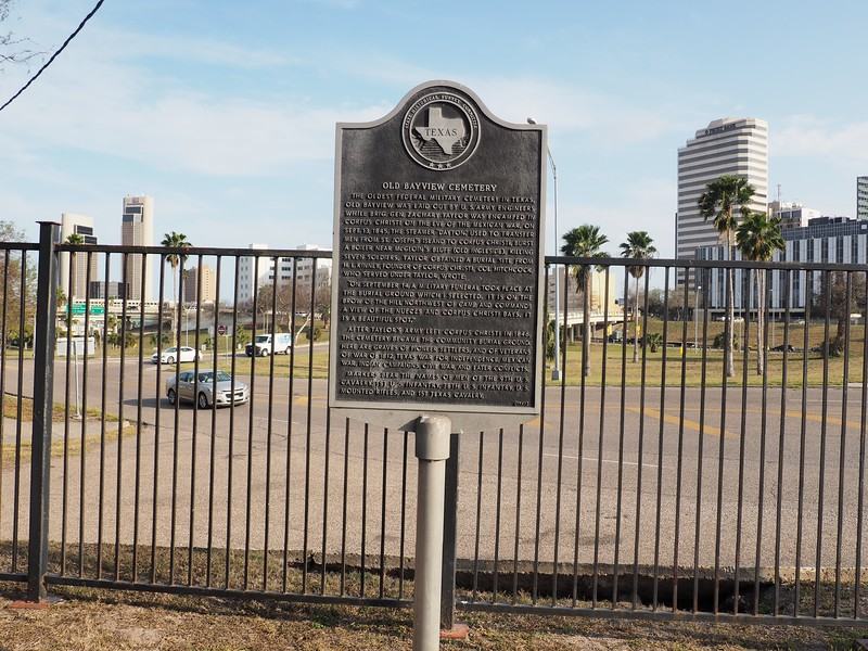 Old Bayview Cemetery historic marker