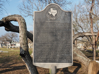 Thomas S Parker historic marker