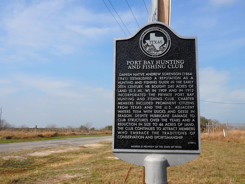 Port Bay Hunting and Fishing Club - Historic Marker