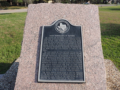 Historic Marker: Irish Immigrants in Refugio