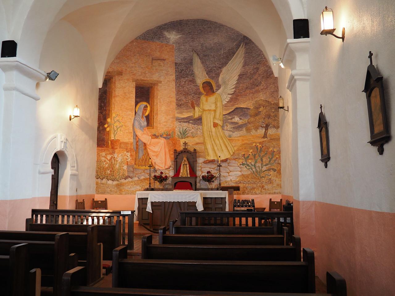 Chapel at Presidio La Bahía