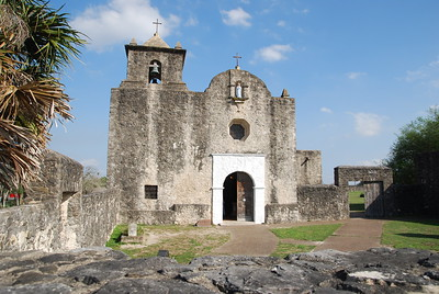 Chapel at Presidio La Bahía