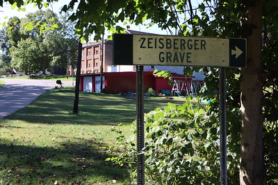 Near the Zeisberger Grave