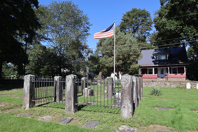 Cemetery where David Zeisberger is buried.