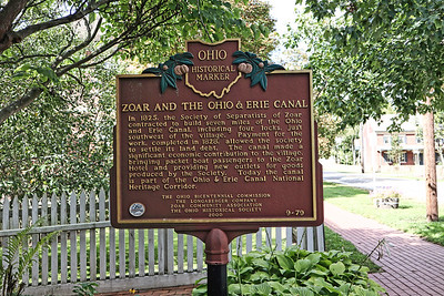 Historic Marker: Zoar and the Ohio & Erie Canal