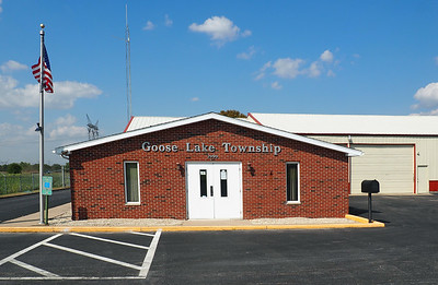 Goose Lake Township Hall.