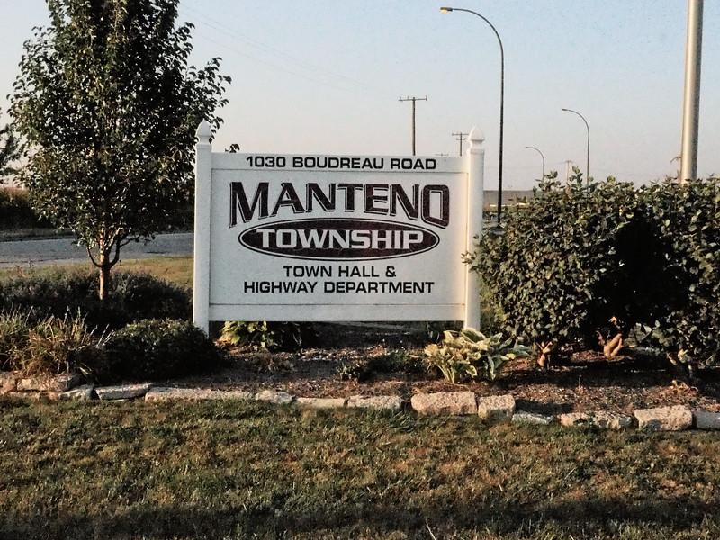 Manteno Township sign