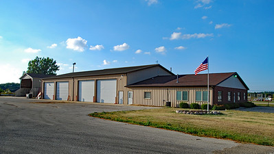 Marion Township Hall as seen from the southeast