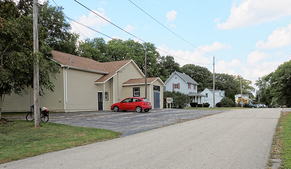Custer Township Hall and Neighbors