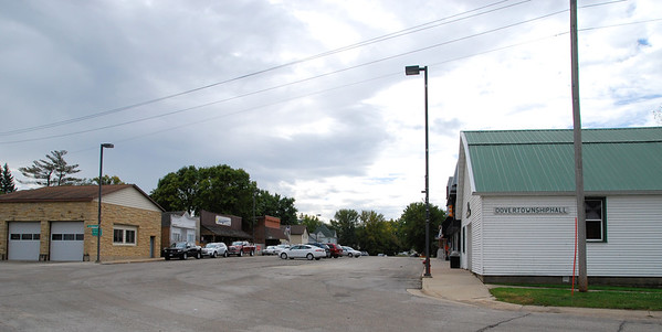 Main Street of Dover, Minnesota