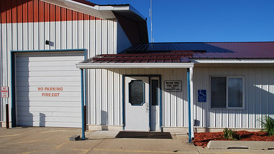 Entrance to Wilson Township Fire Department and Community Center