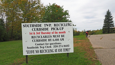Southside Town Hall recycling