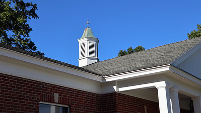 Cupola on Oronoko Township Hall
