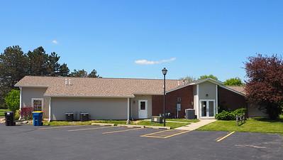 Schoolcraft Township Building - back side