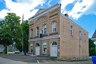 Sanilac Masonic Lodge and Township Hall.