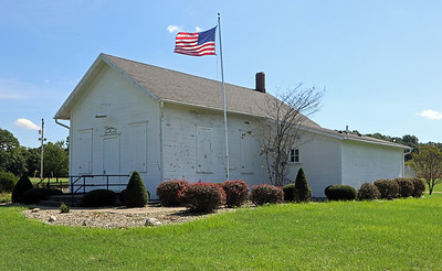 The old Almena Township Hall.
