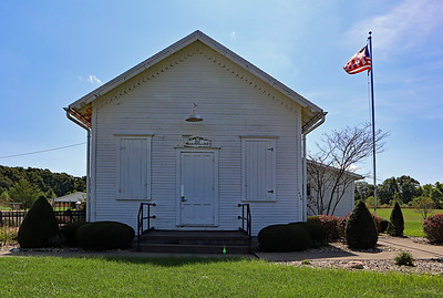 The old Almena Township Hall. This is not the original location, though.
