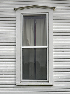 Window on the Older parat of the Arlington Township Hall