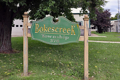 Bokescreek Township Building in West Mansfield, Ohio.