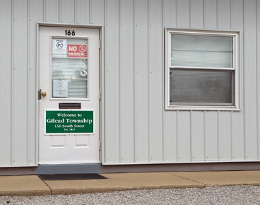 Entrance to Gilead Township Building