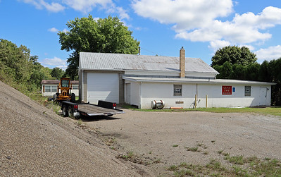 Clay Township Building and yard