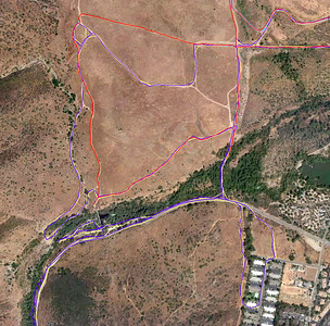 Hiking trails Mission Trails 110508 GoogleE