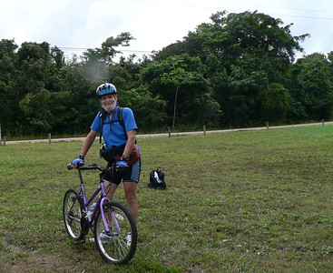 Carl, Belize rain forest ride