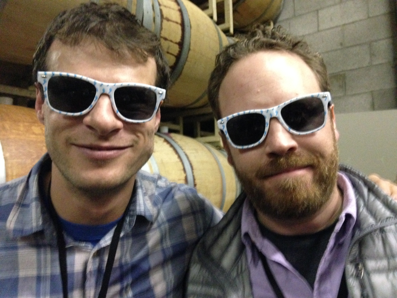 Goof Troop! Gregg and Ryan keep it cool at Wild and Scenic.