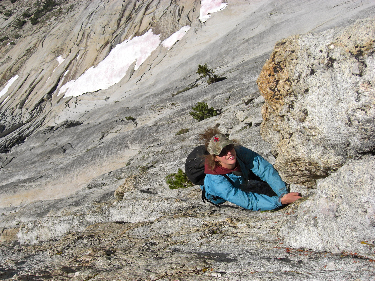 Solo on Mathes Crest (Photo by Pat Kingsbury)