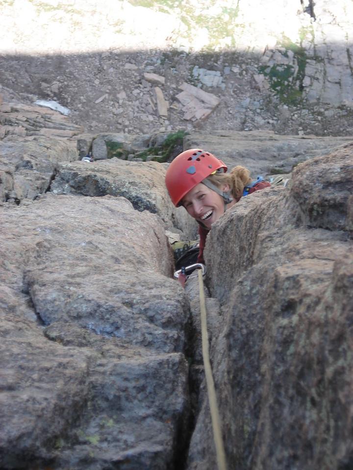 On the Casual Route, the Diamond, Longs Peak, Colorado