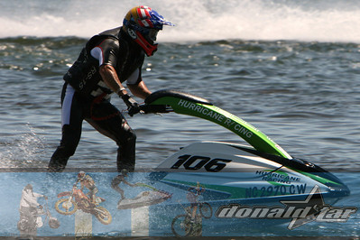 Bill Haig, known all over the world for his contribution to Watercross, another team rider donaldstar.com