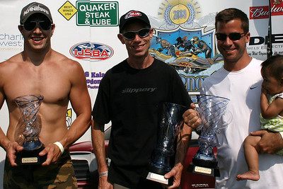 Don Morningstar 2009 IJSBA Expert Ski  National Champion (Center)