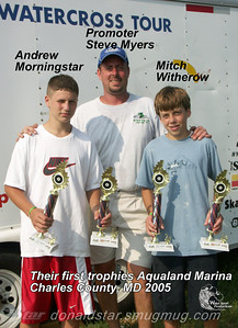 2005 Mitch Witherow and Andrew Morningstar's 1st Trophies