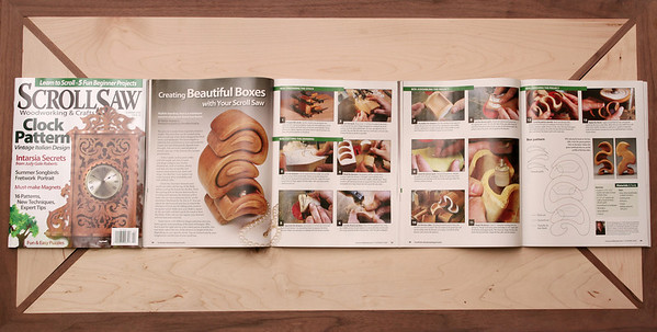 Scroll Saw Woodworking & Crafts magazine Summer 2009