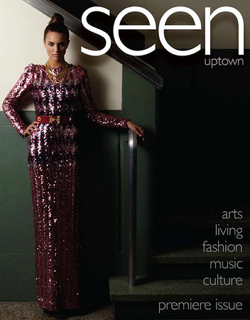 Seen Uptown Magazine Intro 1st issue cover & 8pg