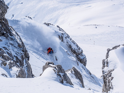 Looking out for fun turns around St Anton am Arlberg!