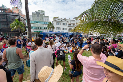 2018_11_03, Andy Cabrera, Apple, Beach, Beach Bed In, Bed In, Bed In on the Beach, Blac Rabbit, Bus, Come Together, Come Together Miami, Diana Rodriguez, Establishing, Exterior, FL, Florida, Josh Greene, Matt Reich, Miami, Miami Beach, The Betsy, The Betsy Hotel, Yamaha