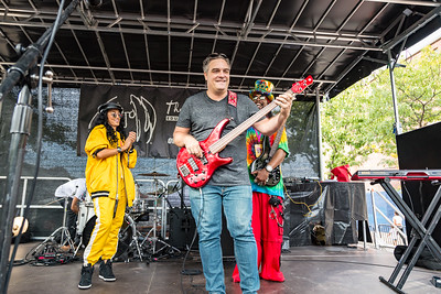 2017_10_07, Allissia Beneviste, Bass off, Block Party, Bootsy Collins, Jackson Heights, NY, Yamaha