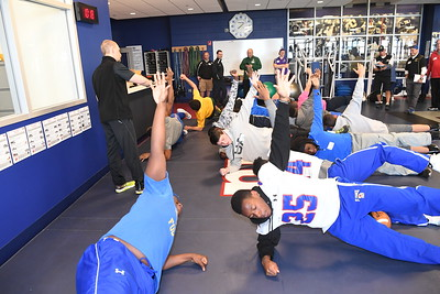 HSS & NYG Sports Performance and Training Event