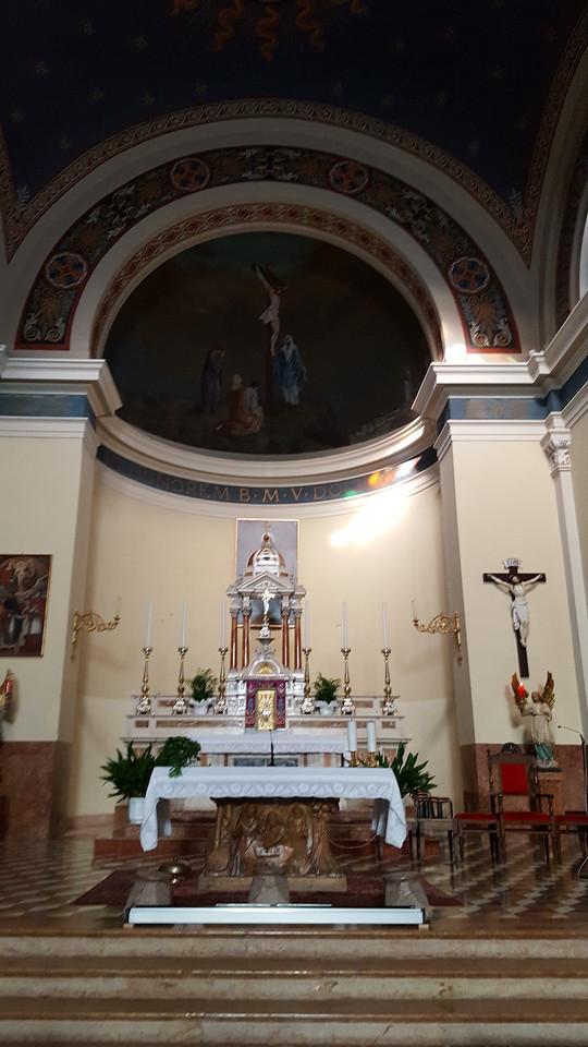 Altar in Sporminore