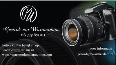 Foto's : Gerard van Warmerdam