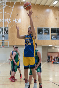 31 August 2018 Rongotai 2 v Paraparaumu College Boys basketball Div 2 final - Club 55 Cup ASB Sports Centre, Wellington