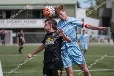 2016 11 05 Team Wellington v Hawkes Bay United Youth