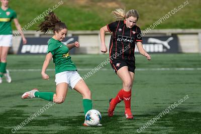 Western Suburbs KPMG v Wairarapa United Kelly Cup quarter-final Capital Football